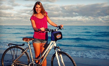 $25 for a Full Day Mountain Bike Rental at Bike and Roll Miami
