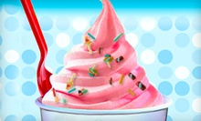 $4 for a 12oz. Fill It Up Frozen Yogurt with Unlimited Toppings at Strawberry Fields Frozen Yogurt