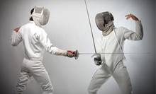 $12 for a 6 p.m. 1.5-Hour Fencing Class at Nellya Fencers