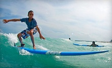 $49 for a 12 p.m. Two-Hour Introductory Surfing Lesson at StreetWaves