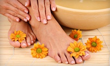 $15 for a Traditional Manicure and Spa Pedicure at Lamar SPA