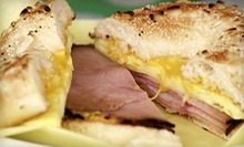 $3 for $6 at Western City Bagel