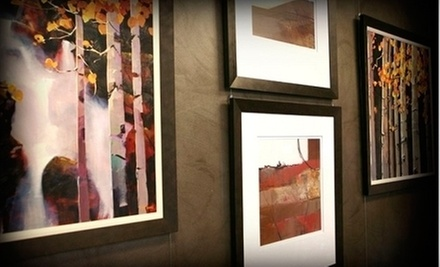 $29 for $100 Worth of Retail Custom Framing at Riveting Frame &amp; Design
