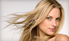 $70 for Face Frame Highlights, Precision Haircut, and Blowdry  at Capelli Salon Dallas