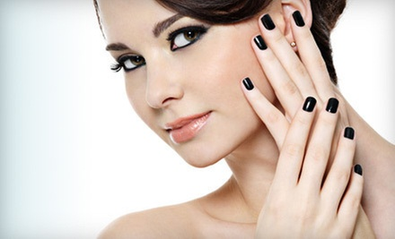 $45 for a Shellac Spa Manicure and Spa Pedicure at Nailz Plus