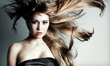 $85 for a Cut, Full Highlights, Deep Condition, Blowdry at Cosmetology Salon &amp; Spa
