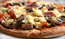 $14 for 2 Salads and 1 Medium Specialty Pizza at Eat & Joy