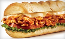 $11 for 2 Regular Subs w/Fries or Chip, and 2 Soft Drinks at Charley's Grilled Subs - Orange