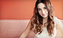 $60 for Custom Partial Highlights, Kerastase Treatment, and Blow Dry at Hair by Rebecca Roberts