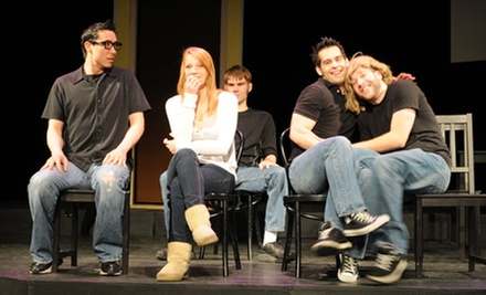 $10 for Two Tickets to 8pm Comedy Show  at Made Up Theatre