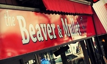 $10 for $20 at The Beaver & Mullet