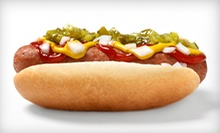 $2 for $4 Worth of Food and Drink at Skip's Hot Dogs