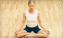 $8 for a Yoga Flow Class at 9:30 a.m. at Sun Salute Yoga