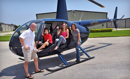 $148 for 20-Minute Helicopter Tour for Three People at Boca Raton Helicopters