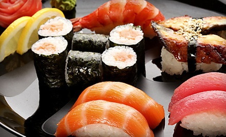 $5 for $10 at Truya Sushi