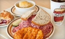 $13 for $20 at Manny's Coffee Shop and Deli