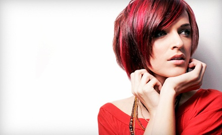 $44 for a Haircut, Deep Conditioning Treatment, and Style at Ra Salon & Spa