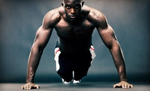 $10 for Boot Camp Class at 9:30 a.m. at Link Fitness