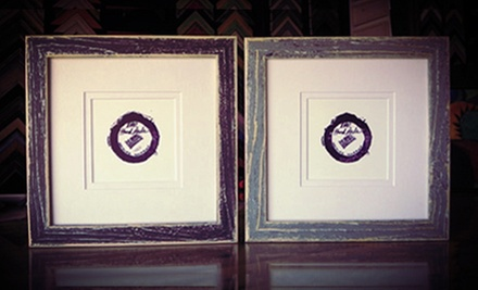 $25 for $85 Worth of Custom Framing at Blue Dot Framing