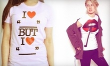 $15 for $30 Worth of Custom-Printed T-Shirts and Accessories at Bang-On T-Shirts