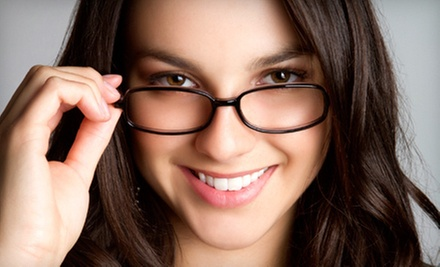 $50 for $200 Worth of Prescription Eyeglasses or Sunglasses  at The Optical View