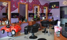 $21 for Babies First Haircut With Family Photo and Lock of Hair at Rock'n Cuts by Nadia