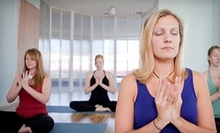 $10 for One 12pm Yoga Class at Sacred Streams Yoga &amp; Healing