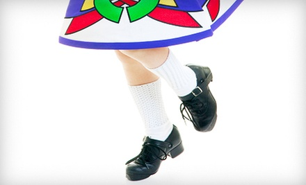 $7 for a 1-Hour  Beginner Class at 9 a.m. at The O'Faolain Academy of Irish Dance