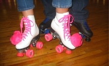 $6 for 2 Admissions, 2 Skate Rentals, & 2 Small Drinks at Interskate Roller Rink