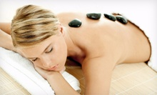 $59 for a Hot Stone Massage, Foot Mask &amp; Foot Scrub at Monark Salon &amp; Spa