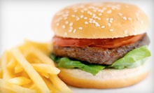 $5 for a Greek Lamb Burger and Fries at Athina Grill