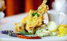 $25 for $50 Worth of Evening Tea or Dinner Fare at Scarlet Tea Room and Fine Dining