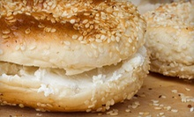 $3 for Two Bagels with Cream Cheese at Raf Deli