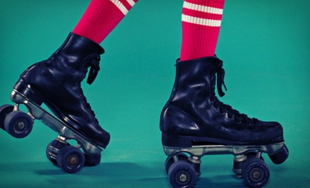 $10 for Admission and Skate Rental for Two at Sparkles Family Fun Center-Smyrna