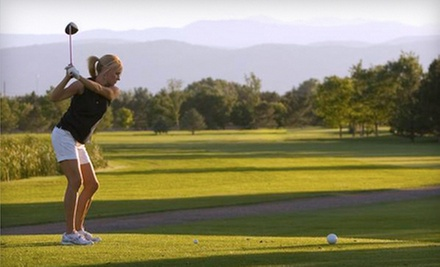$30 for 9-Hole Round of Golf, Cart and Bucket of Balls for Two at Mountain Vista Golf Course