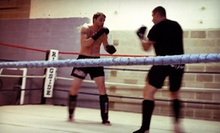 $10 for Kickboxing and Boxing Class at 6:30 p.m. at Top Notch Fitness & Boxing