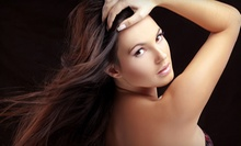 $107 for a Cut, Color, Deep Condition and Facial Wax at Green Turtle Salon