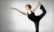 $10 for a Yoga Class 9:15 a.m. at Cary Yoga and Kickboxing