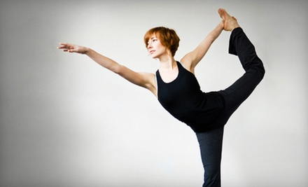 $8 for a Yoga Class 9:15 a.m. at Cary Yoga and Kickboxing