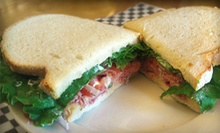 $6 for $10 Worth of Sandwiches and Drinks at Boulder Creek Market