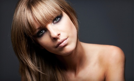 $25 for a Haircut and a Moisturizing Hair Treatment  at Daisy Nails & Hair Salon
