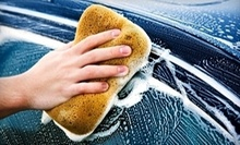 $14 for Ultimate Car Wash, Wax and Wheel Treatment at Harv's Express Car Wash & Detailing