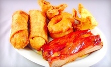 $10 for Lunch Buffet for Two at Golden Wok Restaurant