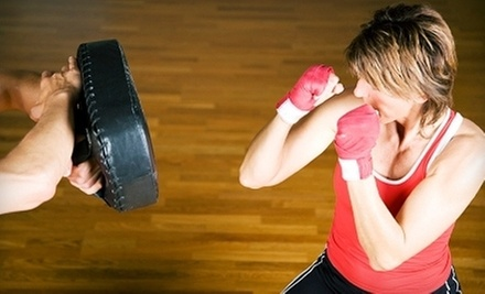 $15 for 5:00 p.m. Kickboxing and Core Training Class at Allure Dance & Fitness Studio