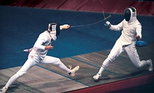 $12 for a 6 p.m. Fencing Class at Fencing Sports Academy