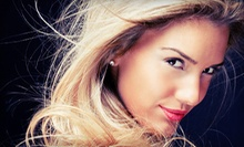 $55 for for All Over Color, Blow Dry and Style with Lash Extensions at Sharp Styles Salon