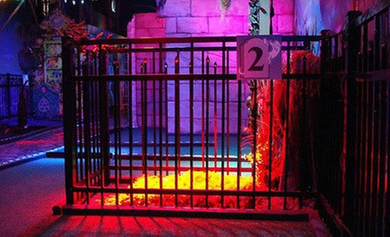 $16 for Four Rounds of Mini Golf  at Ghost Golf