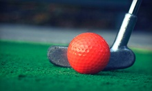 $15 for Mini Golf  for 2, 1 Large Bucket of Balls & Clubs at Turtle Cove Golf Center