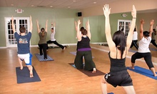 $10 for a 75-Minute Yoga Class at 9:00 a.m.  at Barefoot Yoga Studio