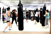 $10 for a Cardio Kickboxing Class at 7:45 p.m. at Total MMA Studios